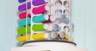 12x12 Paper Storage - DIY Vertical Organizer for Scrapbook Paper