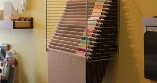 Rackitfile Wall Hanging File Folder System Scrapbook Paper Storage