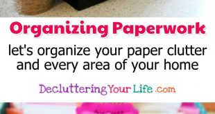 Organisieren von Papierkram - Lassen Sie uns Ihren Papierstau und jeden Bereich ...