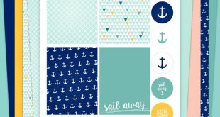 Project Life Kit - Maritime Style (Free Printable