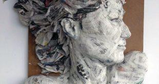 Best 33 Amazing sculpture Paper Mache images - artTru.coM
