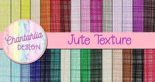 Free digital paper in 35 colours in jute textures. Use them in your digital scra...