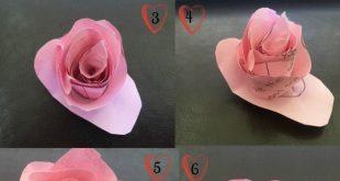 Flower Twisting Craft Tutorial – Schnell und einfach #iCraft – #MyValentine #iCraft