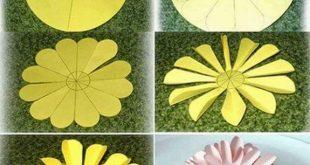 Gänseblümchen aus Papier Hier finden Sie viele Ideen zum Basteln, Quilling, zu...
